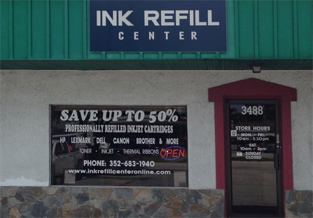 Ink Refill Center - Spring Hill Florida - Contact Us